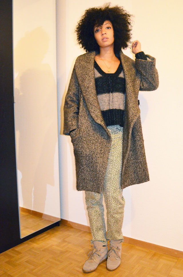 mercredie-blog-mode-d&g-dolce-gabbana-isabel-marant-kookai-imprime-leopard-sneakers-gros-pull-manteau-la-redoute