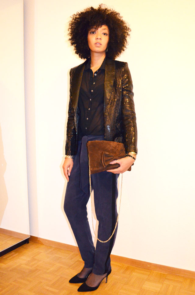 mercredie-blog-mode-only-les-petites-pantalon-groom-sac-village-escarpins-zara-veste-glitter-sequins-afro-hair-natural