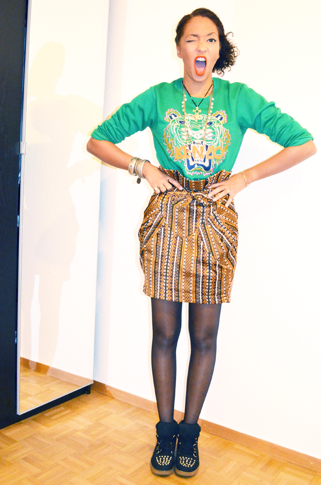 mercredie-blog-mode-beaute-fashion-look-outfit-kenzo-tiger-sweater-sweater-soldout-green-tigre-jupe-africa-asos-skirt-african-albatorock-ersatz-5
