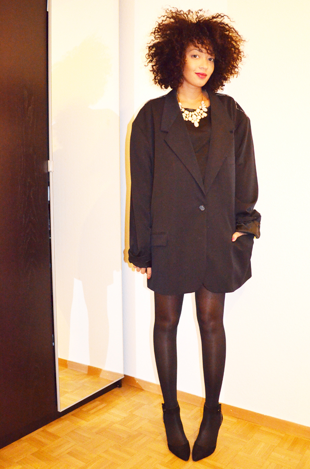 mercredie-blog-mode-martin-margiela-oversized-masculine-jacket-h&m-zara-escarpins-nappy-hair-afro-2