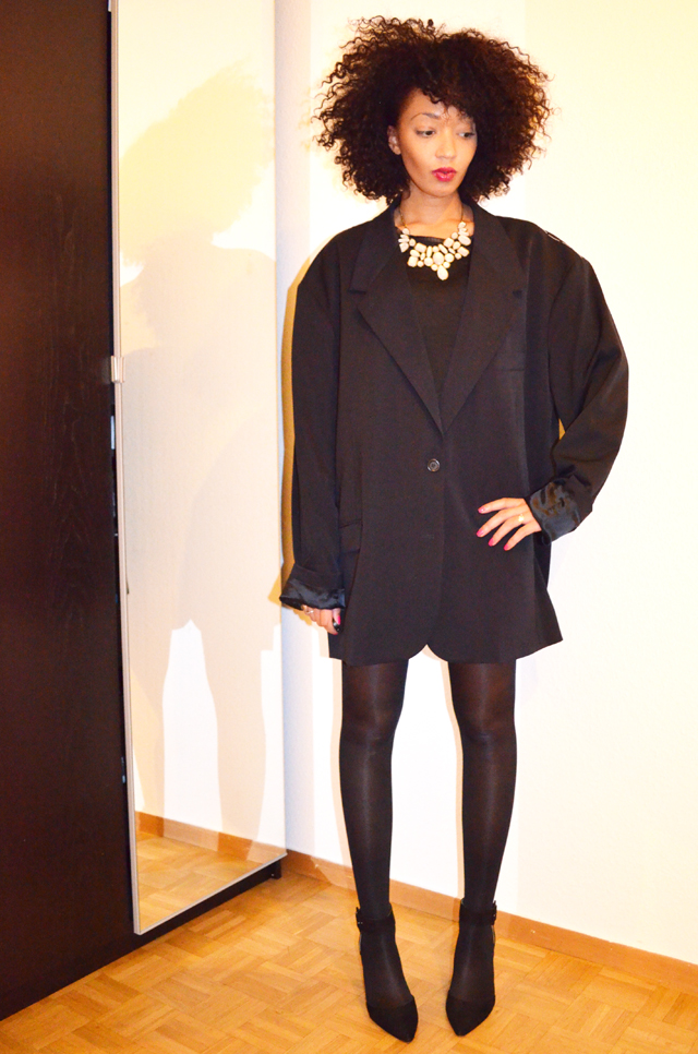 mercredie-blog-mode-martin-margiela-oversized-masculine-jacket-h&m-zara-escarpins-nappy-hair-afro-3