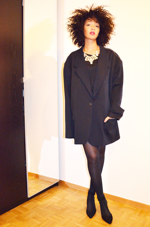 mercredie-blog-mode-martin-margiela-oversized-masculine-jacket-h&m-zara-escarpins-nappy-hair-afro