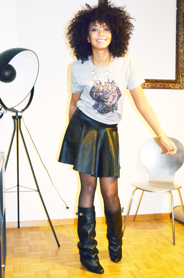 mercredie-blog-mode-beaute-geneve-bottes-givenchy-boots-shark-ersatz-choies-jupe-cuir-promod-afro-hair-cheveux-nappy