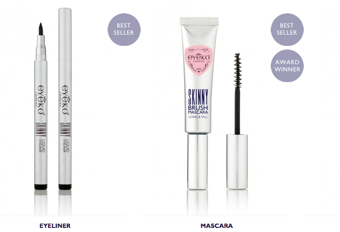 mercredie-blog-mode-beaute-makeup-eyeko-skinny-mascara-eyeliner-review