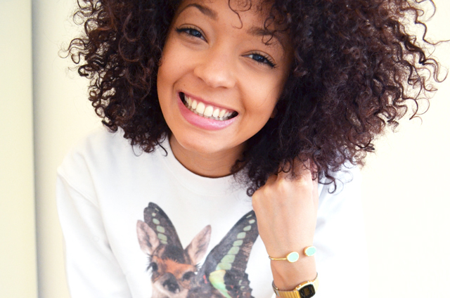 mercredie-blog-mode-beaute-suisse-geneve-sweat-bambi-topshop-emma-cook-cheveux-afro-hair-nappy