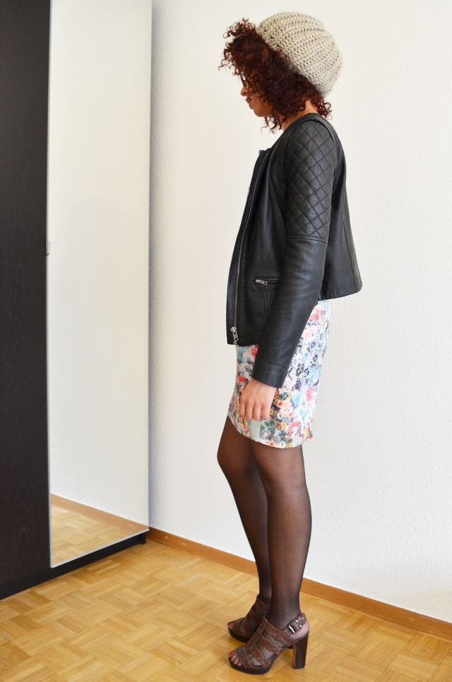 mercredie-blog-mode-robe-h&m-roseanna-ersatz-bata-bel-air-blouson-afro-hair-cheveux-nappy