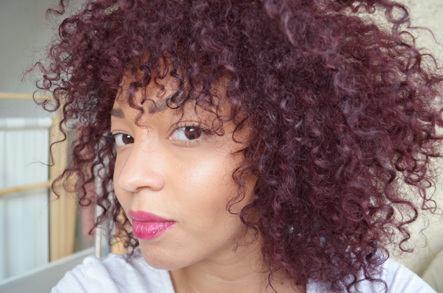 mercredie blog mode beaute cheveux avant apres before - Coloration Cheveux Violet Fonc