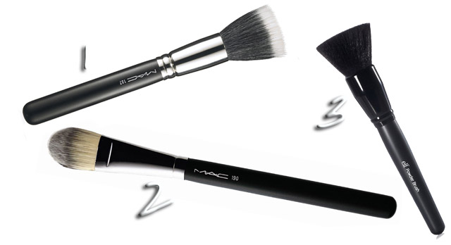 mercredie-blog-mode-beaute-makeup-favoris-fond-de-teint-elf-zero-defaut-flawless-foundation-test-deam-nude-mousse-loreal-black-up-maestro-armani-pinceaux-brushes-mac-elf