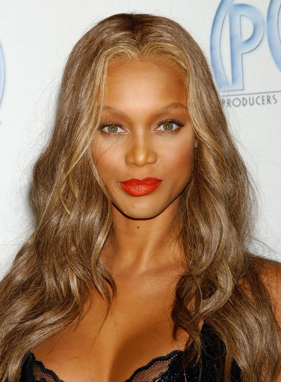 rihanna letterman1 tyra banks pictures 22 - Coloration Blond Clair Caramel