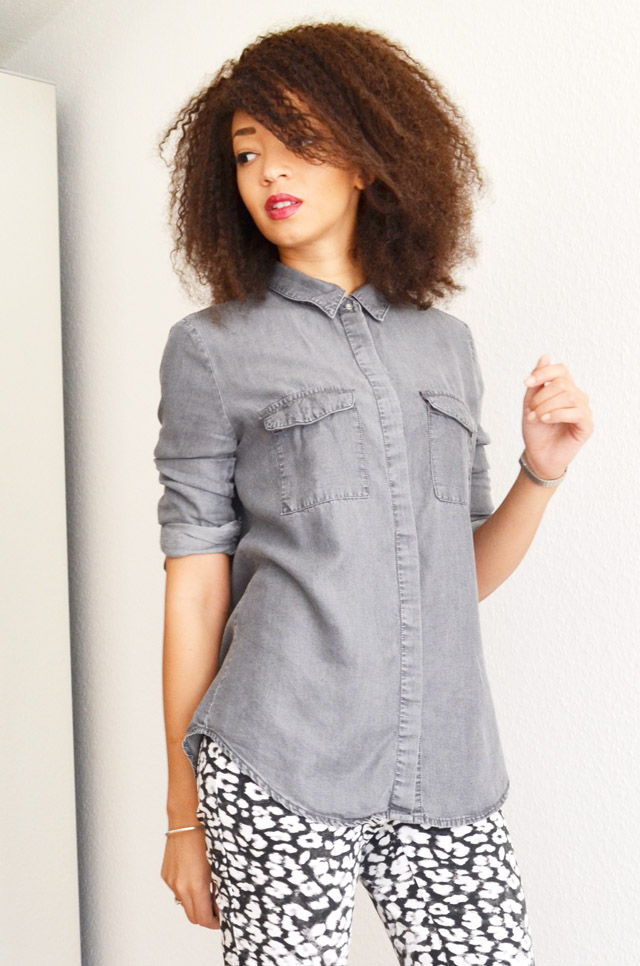 mercredie-blog-mode-grey-shirt-chemise-grise-denim-h&m