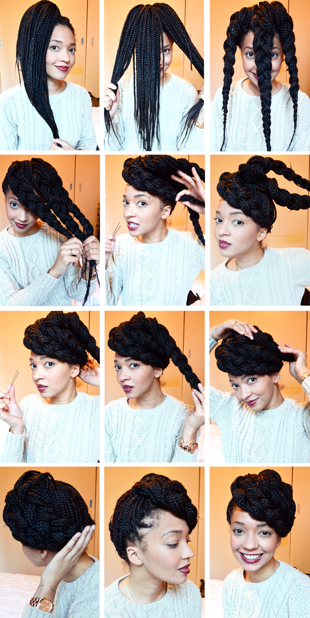 short box braid hairstyles with curled ends short. Black Bedroom Furniture Sets. Home Design Ideas
