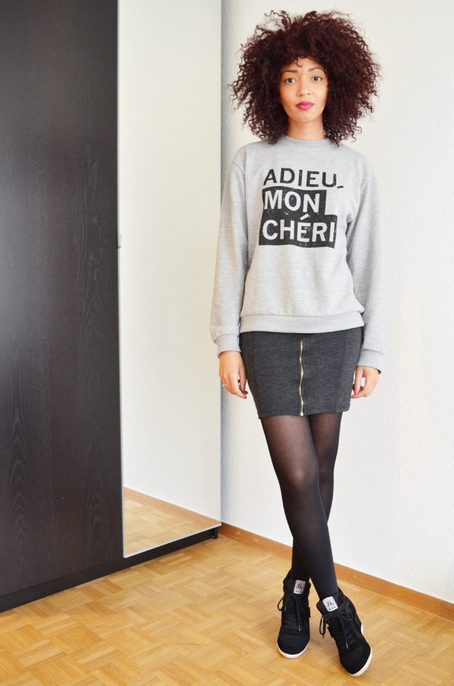 mercredie-blog-mode-geneve-suisse-sweat-asos-adieu-mon-cheri-mini-jupe-jennyfer-ash-bowie-black-afro-purple-hair-nappy-cheveux-frises-syoss