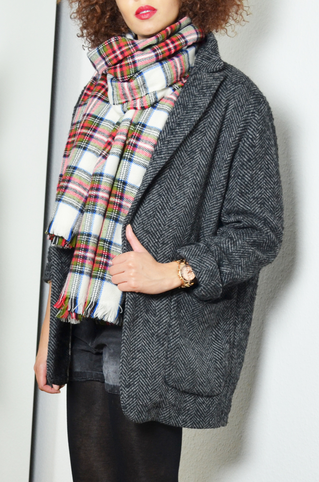 mercredie-blog-mode-geneve-h&m-echarpe-tartan-manteau-boyfriend-kate-moss2