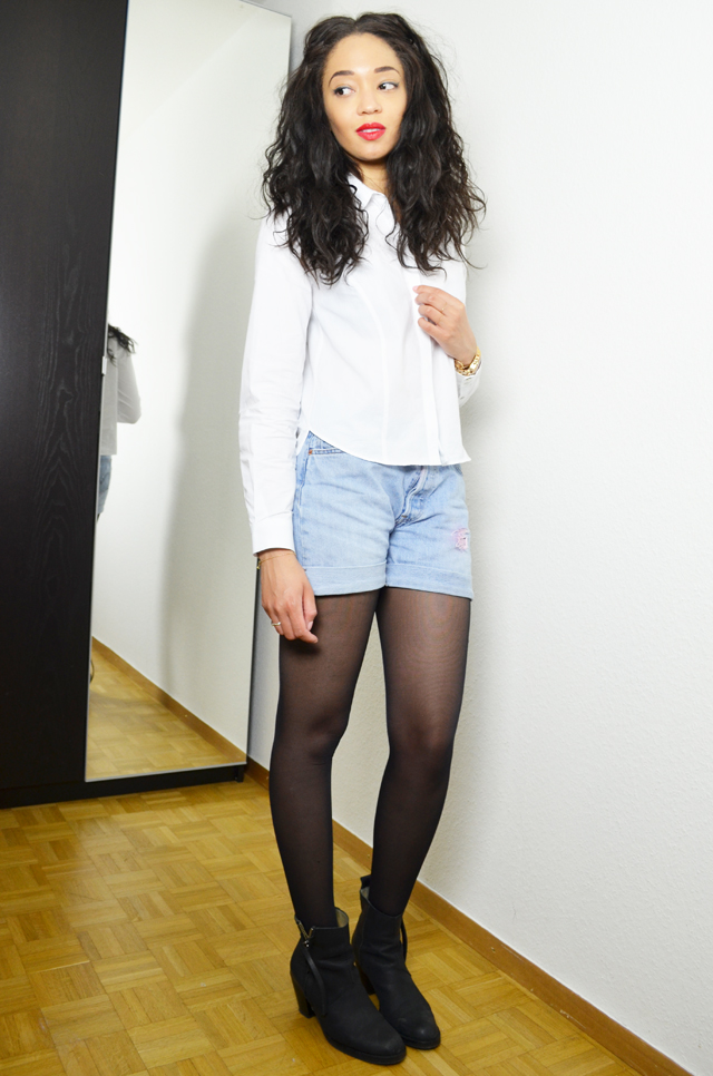 mercredie-blog-mode-geneve-suisse-blogueuse-bloggeuse-fashionblogger-chemise-courte-zara-tissa-ge-bresilien-rare-virgin-short-levis-denim-cropped-501-acne-boots-pistol