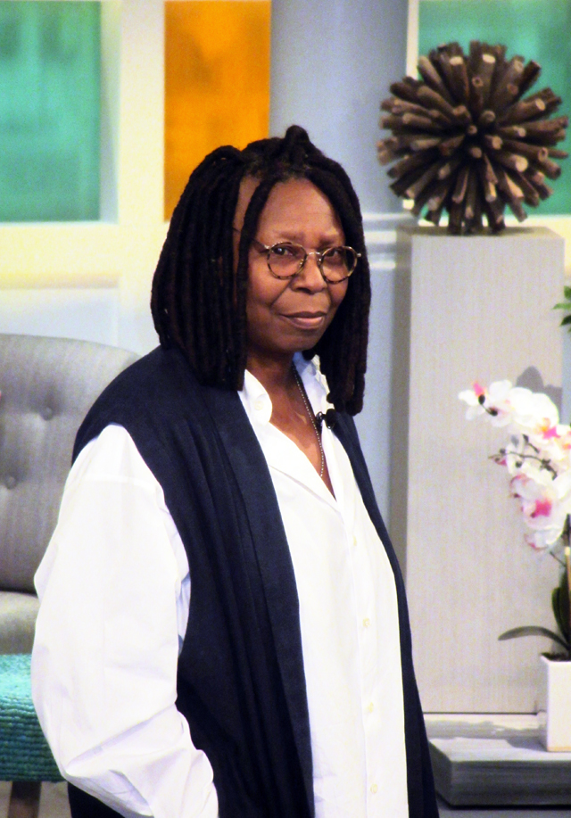 mercredie-blog-mode-nyc-assister-emission-tv-television-public-the-view-place-whoopi-goldberg