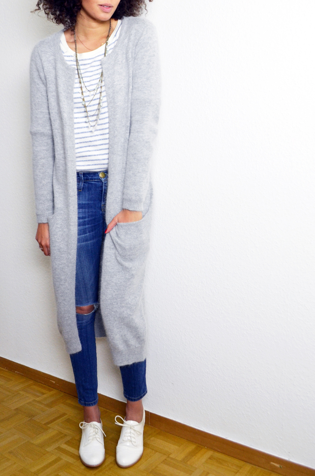 mercredie-blog-mode-gilet-long-acne-like-vila-modress-richelieu-blanc-boyfriend-jean-current-elliott3
