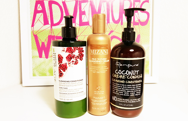 mercredie-blog-beaute-cheveux-frises-naturels-nappy-no-poo-low-poo-shampoing-test-avis-cleansing-conditioner-matrix-biolage-mizani-true-textures-renpure-coconut-creme-co-wash