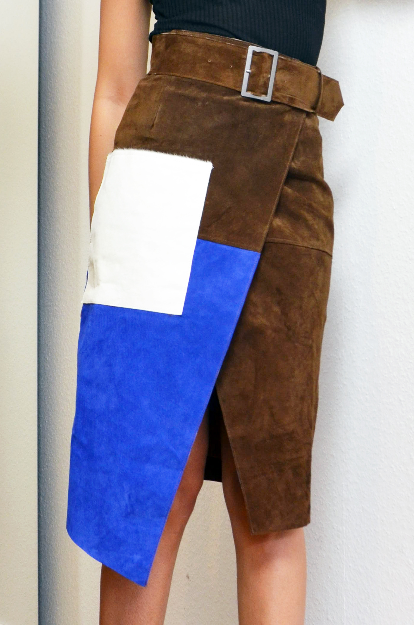 mercredie-blog-mode-geneve-jupe-asos-color-block-cuir