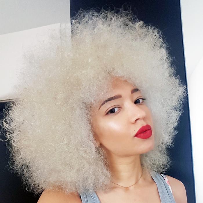 Decoloration cheveux afro homme